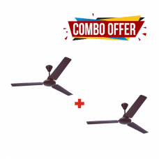 Crompton Cool Breeze 1200mm Ceiling Fan (brown) 1 + 1