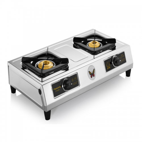 Butterfly Friendly LPG 2 Burner Gas Stove