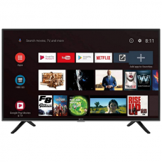 Micromax 81 cm (32) HD Ready Certified Android Smart LED TV 32TA6445HD (Black)