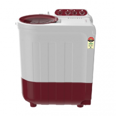 Whirlpool 7.2 Kg Semi Automatic Top Loading Washing Machine (Ace Supreme Plus 7.2, Coral Red, 5 Years Warranty)